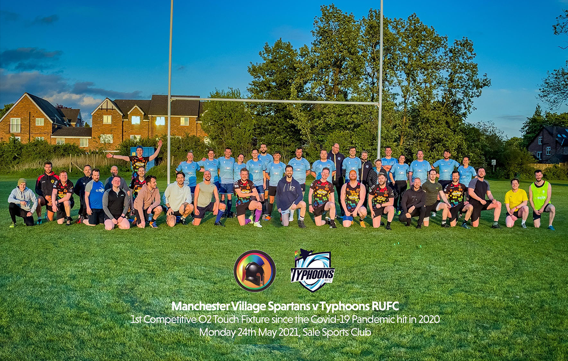 Spartans v Typhoons Inclusive rugby